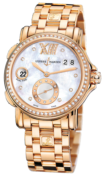 Ulysse Nardin Classico Ladies Watch Model 246-22B-8.391