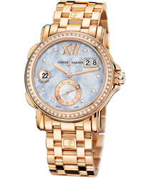 Ulysse Nardin Dual Time Ladies Watch Model 246-22B-8.392