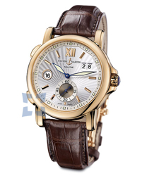 Ulysse Nardin Dual Time Mens Wristwatch Model: 246-55-31