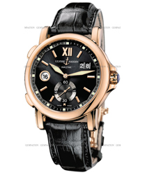 Ulysse Nardin Dual Time Mens Wristwatch Model: 246-55-32