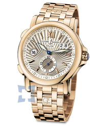 Ulysse Nardin Dual Time Mens Wristwatch Model: 246-55-8-30