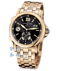 Ulysse Nardin Dual Time Mens Wristwatch Model: 246-55-8-32