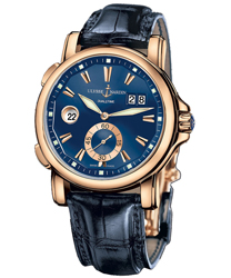 Ulysse Nardin Dual Time Men's Watch Model 246-55.93