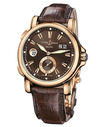 Ulysse Nardin Dual Time Men's Watch Model 246-55.95