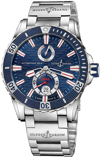 Ulysse Nardin Marine Diver Men's Watch Model 263-10-7M-93