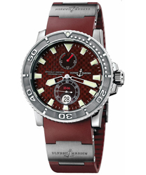 Ulysse Nardin Maxi Marine Mens Wristwatch Model: 263-33-3.95