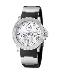 Ulysse Nardin Maxi Marine Mens Wristwatch Model: 263-33-3