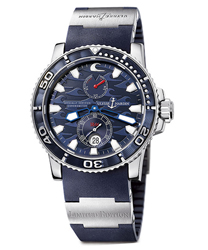 Ulysse Nardin Blue Surf Mens Wristwatch