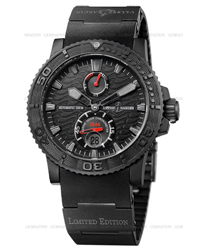 Ulysse Nardin Black Ocean Mens Wristwatch