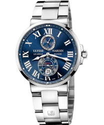 Ulysse Nardin Maxi Marine Mens Wristwatch Model: 263-67-7-43