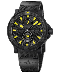 Ulysse Nardin Black Sea Mens Watch Model 263-92-3C-924