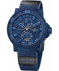 Ulysse Nardin Black Ocean / Blue Ocean Men's Watch Model: 263-99LE-3C