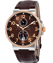 Ulysse Nardin Marine Chronometer Men's Watch Model 265-66-BROWN