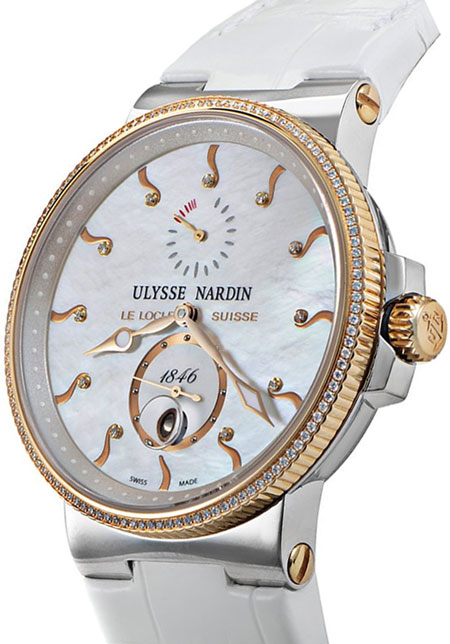 Ulysse Nardin Marine Chronometer Ladies Watch Model 265-66-MOP Thumbnail 2