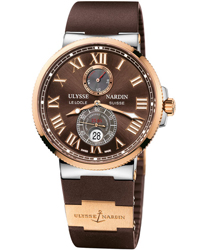 Ulysse Nardin Maxi Marine Mens Wristwatch Model: 265-67-3-45