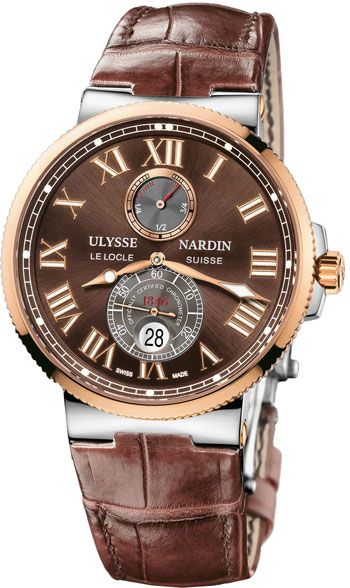 Ulysse Nardin Maxi Marine Chronometer 43mm Mens Wristwatch Model: 265-67-45