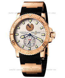 Ulysse Nardin Maxi Marine Men's Watch Model 266-33-3-925