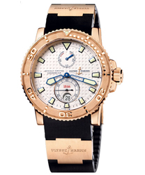 Ulysse Nardin Maxi Marine Mens Wristwatch Model: 266-33-3A-90