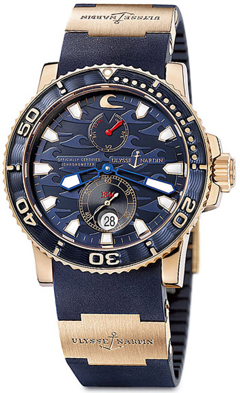 Ulysse Nardin Blue Surf Men's Watch Model 266-36LE-3