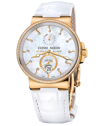 Ulysse Nardin Marine Chronometer Ladies Watch Model 266-66B-991