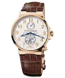 Ulysse Nardin Maxi Marine Mens Wristwatch Model: 266-66