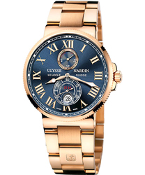 Ulysse Nardin Maxi Marine Mens Wristwatch Model: 266-67-8M-43