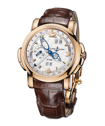 Ulysse Nardin GMT +- Mens Wristwatch Model: 322-66-91