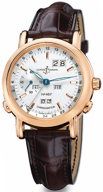 Ulysse Nardin GMT +- Perpetual Limited Edition Mens Wristwatch Model: 322-88.91