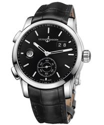 Ulysse Nardin Dual Time Men's Watch Model 3343-126.92