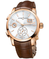 Ulysse Nardin Dual Time Men's Watch Model: 3346-126.91