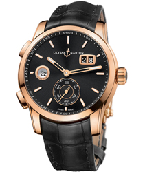 Ulysse Nardin Dual Time Men's Watch Model 3346-126.92