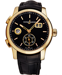 Ulysse Nardin Dual Time Men's Watch Model 3346126-92