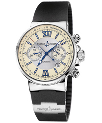 Ulysse Nardin Maxi Marine Men's Watch Model 353-66-3.314