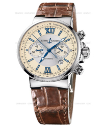 Ulysse Nardin Maxi Marine Men's Watch Model 353-66-314
