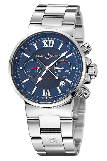 Ulysse Nardin Maxi Marine Men's Watch Model 353-66-7.323