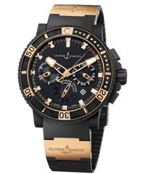 Ulysse Nardin Black Sea Men's Watch Model 353-90-3