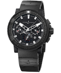 Ulysse Nardin Black Sea Men's Watch Model 353-92-3C