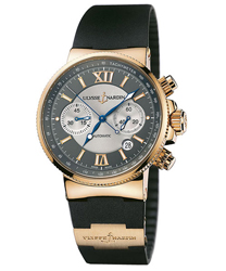 Ulysse Nardin Maxi Marine Men's Watch Model 356-66-3.319