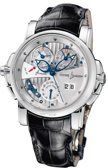 Ulysse Nardin Sonata Mens Wristwatch Model: 670-88