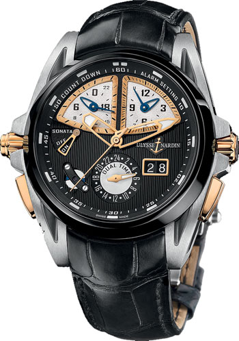 Ulysse Nardin Sonata Men's Watch Model 675-00