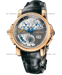 Ulysse Nardin Sonata Mens Wristwatch Model: 676-88-212