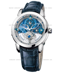 Ulysse Nardin Royal Blue Tourbillon Mens Wristwatch