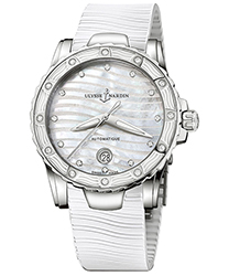 Ulysse Nardin Marine Diver Ladies Watch Model 8153-180E-3-10