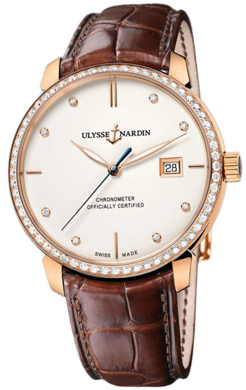 Ulysse Nardin Classico Men's Watch Model 8156-111B-2-991