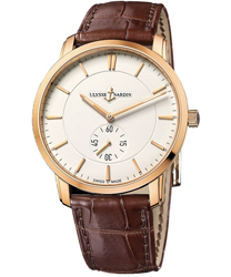 Ulysse Nardin Classico Men's Watch Model 8206-168-2-31
