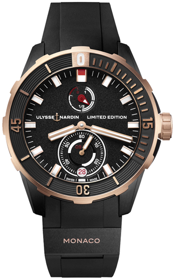 Ulysse Nardin Diver Men's Watch Model 1185-170LE-3/BLACK-MON