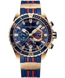 Ulysse Nardin Diver Men's Watch Model: 1502-151LE-3/93-HAMMER