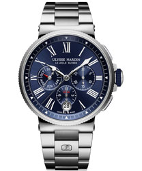 Ulysse Nardin Marine  Men's Watch Model: 1533-150-7M/43