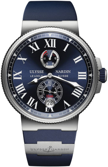 Ulysse Nardin Marine Men's Watch Model 1183-122-3/43