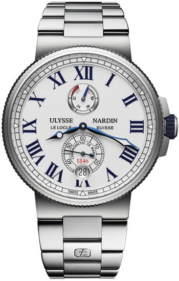 Ulysse Nardin Marine Men's Watch Model: 1183-122-7M/40